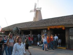 Kansas State Fair's Ye Old Mill....a tradition