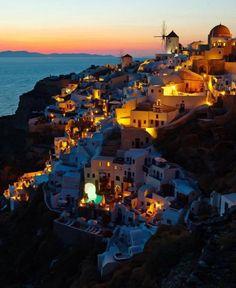 dream vacation. Santorini, Greece.
