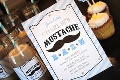 Mustache Bash Collection  PRINTABLE PARTY PACKAGE little Man's First Birthday Boy by ItsyBelle, 35.00