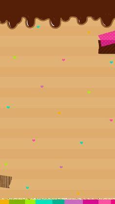 Pink Unicorn Wallpaper, Hello Kitty Wallpaper, Cake Wallpaper, Iphone Wallpaper, Choco Jar, Cupcake Logo, Pin Up Drawings, Food Poster Design, Pink Cupcakes
