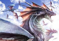 Awesome dragon art:)