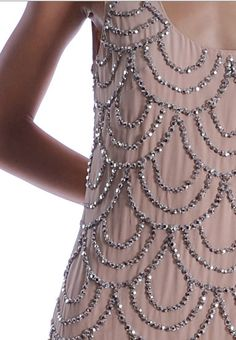sequined dress very pretty what you can see of it