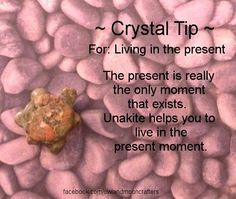 for Living In The Present- Get healing crystals here https://www.etsy.com/ca/shop/MagickalGoodies