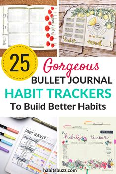 Are you looking for inspiration to try new habit tracker layouts in your bullet journal? Here are 25 beautiful habit tracker ideas you can try in your bullet journal today. Bullet Journal Key, Bullet Journal Tracker, Bullet Journal Layout, Bullet Journal Inspiration, Bullet Journals, Journal Pages, Journal Ideas, Kugel, Fun Crafts