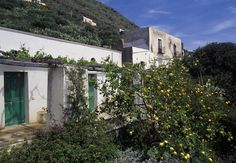 Typical house on the island of Alicudi.  A lovely reminder of a trip to Italy. #lsicilia  #sicily #alicudi #eolie