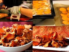Homemade sweet potato chips are most definitely a Sensational Side!  @OXO (Official) #SideofOXO