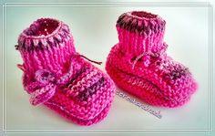 Sapatinho de lã infantil  www.facebook.com/cereshandmade