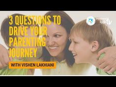 Take a look at my video, folks👇 3 Questions to Drive Your Parenting Journey w/ Vishen Lakhiani https://youtube.com/watch?v=0vJs09Rh_1w