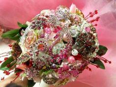 Brooch Bridal Bouquet by shawna