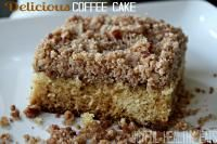 Delicious Coffee Cake on MyRecipeMagic.com is so easy to make! You will love this recipe. #cake #delicious
