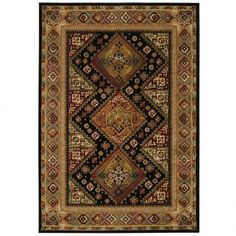 Capel Martinez Shirvan Black Oriental Rug - 2379-350