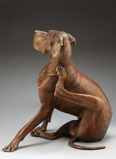 Gallery site for Louise Peterson, a Colorado sculptor of Great Danes and other animals. Animal Statues, Animal Sculptures, Miniature Dogs, Horses And Dogs, Horse Sculpture, Mexican Art, Wolf, Dog Art, Wood Carving