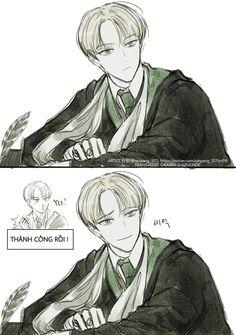 Fanart Harry Potter, Harry Potter Puns, Harry Potter Draco Malfoy, Harry Potter Drawings, Harry Potter Ships, Harry Potter Hogwarts, Severus Snape, Hermione Granger, Drarry Fanart
