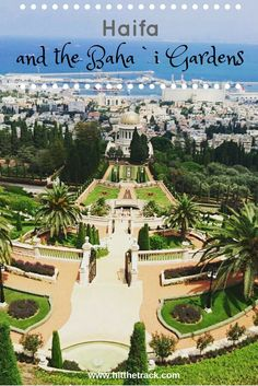 Learn a few things about the Baha'i religion by visiting a unique and unforgettable site, the Baha'i Gardens of Haifa, Israel.