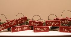 I hosted a FUN Christmas craft group at my house this month! We made:  Christmas Wood Ornaments With Vinyl Letters    We had a great turnout...