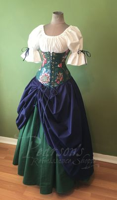 DIY und Selbermachen Fantasievolles Mädchen Why are People Buying Shoes Online? Renaissance Fair Costume, Renaissance Clothing, Renaissance Fashion, Medieval Costume, Steampunk Clothing, Pretty Dresses, Beautiful Dresses, Fair Outfits, Medieval Dress