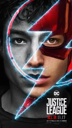 Ezra Miller The Flash Poster Justice League