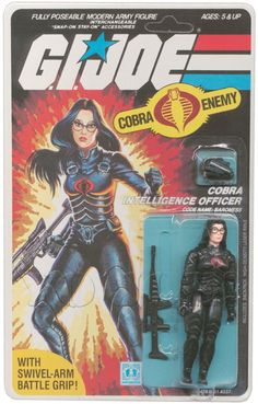 Baroness (v1) G.I. Joe Action Figure - YoJoe Archive