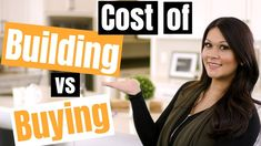 In this episode, we discuss the costs of building vs buying a house including the pros and cons of each. 💬 Check out our rent vs own calculator to see if buy. Building A House Cost, Home Buying Process, Get Educated, First Time Home Buyers, In 2019, School, Stuff To Buy