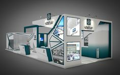 Exhibition stand on Behance
