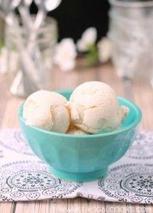 Vanilla Peach Ice Cream Recipe