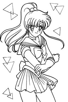Free Printable Inuyasha Coloring Pages For Kids See More Jupiter040 1200x1790