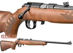 Ruger American Rimfire Rifle with Wood Stock