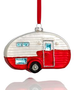 Holiday Lane Camping Trailer Ornament - Holiday Lane - Macy's