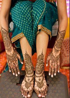 Latest Indian Mehndi Designs 2013 For Girls-3