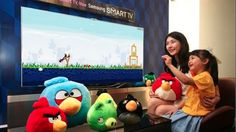 Motion Controlled Angry Birds Are Flinging onto Samsung TVs