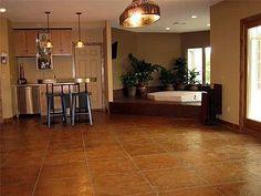 Faux Tile, Earthy  Concrete Floors  Allstate Decorative Concrete  Cokato, MN