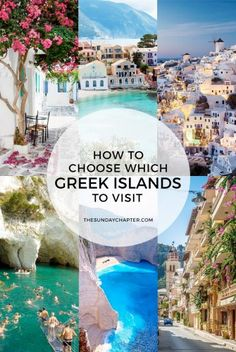 With so many Greek islands, how do you choose which ones to visit? I've comp… With so many Greek islands, how do you choose which ones to visit? I've compiled a list of the most popular and underrated for you to discover! Greece Honeymoon, Greece Vacation, Greece Travel, Greece Trip, Visit Greece, Greece Food, Greece Itinerary, Croatia Travel, Holiday Destinations