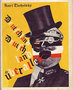 kurt tucholsky & john heartfield by 50 Watts, via Flickr
