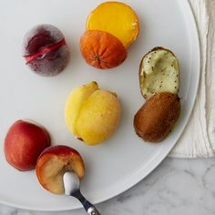 Gelato Filled Fruit, Set of 5 #williamssonoma