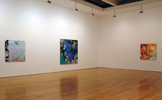 INGRID CALAME  Solo Exhibition at James Cohan Gallery, NY, 2003  Installation view