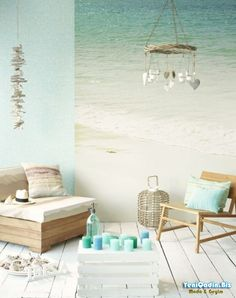 Beautiful coastal theme