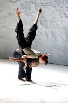 "Sylvie Guillem and Akram Khan in ""Sacred Monsters""."