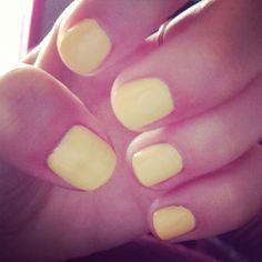 Yellow nails!!! #summer