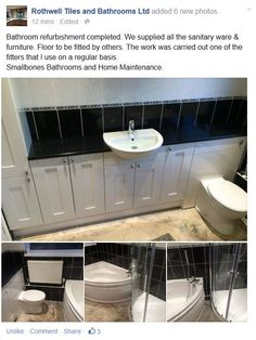 The Work Was Carried Out One Of Fitters That I Use On A Regular Basis Smallbones Bathrooms And Home