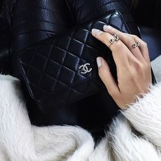 Pretty Chanel wallets. // Follow @ShopStyle on Instagram to shop this look
