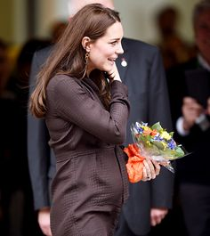 Kate Middleton arrives at an event hosted by The Fostering Network on January 16, 2015 in London