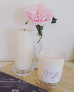 Stylish and sleek. Find us on etsy to order Hemelsoywaxcandles Soy Wax Candles, Candle Wax, Pillar Candles, Stylish, Pretty
