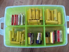 ada brown: Battery Organization