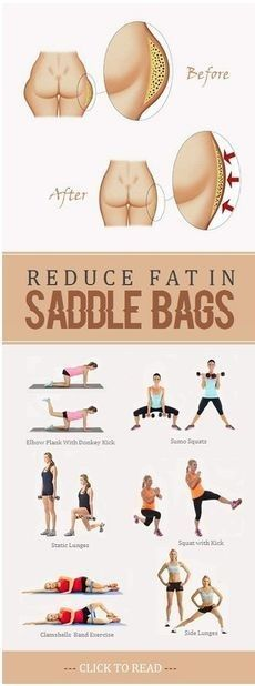 8 easy moves to get rid of saddlebags