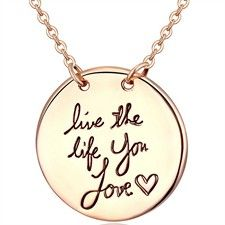 18Ct Yellow Gold Electroplated Necklace