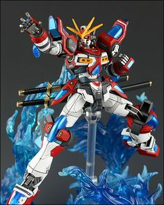 [Gundam] Kamiki Burning Gundam (Built by Bomwoo38)
