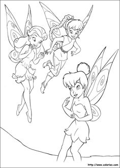In This Beautiful Coloring Page Tinker Bell Meets Rosetta