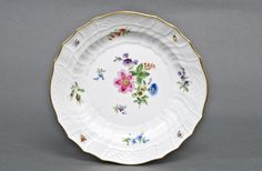 Meissen Porcelain Manufactory (Germany) — Plate. D:23,5 cm.,19th Century (1000×654)