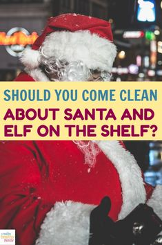 Should you come clean about Santa and Elf on the Shelf to your kids this holiday season? Is there any harm in letting them believe longer? See what the experts say!