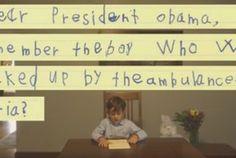 Niño pide ayuda a Obama para adoptar a menor herido en Alepo - Milenio.com